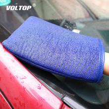 Car Cleaning Tool Cloth Decontamination Cloth Car Wash Mud Car Wash Gloves Auto Care Cleaning Towel Microfiber Sponge Pad все цены