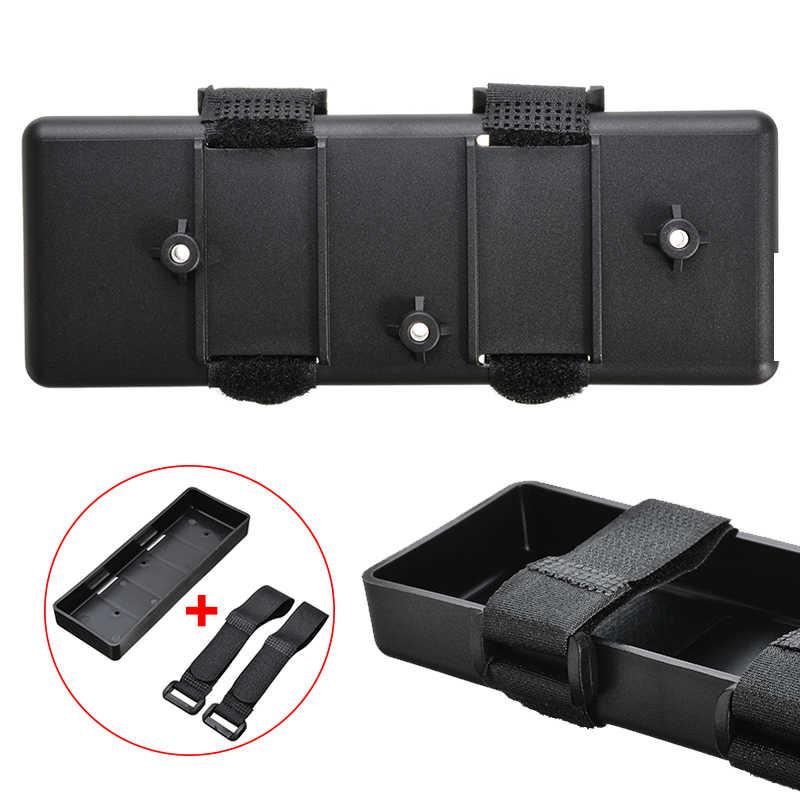 1 adet 15cm x 5cm plastik pil kutusu braketi tepsi durumda pil saklama kutusu için 1/10 1/8 RC arabalar aksesuarları