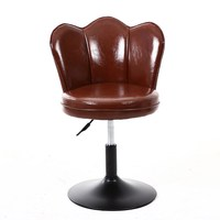 Bar stool simple lift net red back creative cashier front desk Nordic rotating high stool
