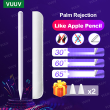 For Stylus Pen Apple Pencil 2 1 For iPad Pro 11 12.9 2020 2018 9.7 10.2 8th 7th Air 3 4 For iPad Pencil with Palm Rejection 애플펜슬