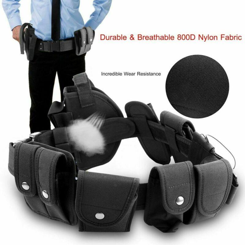 Rig Gear Duty Belt Detective Officer Security Guard Law Enforcement Equipment Police & Security Belts Nylon Men's Training Belt