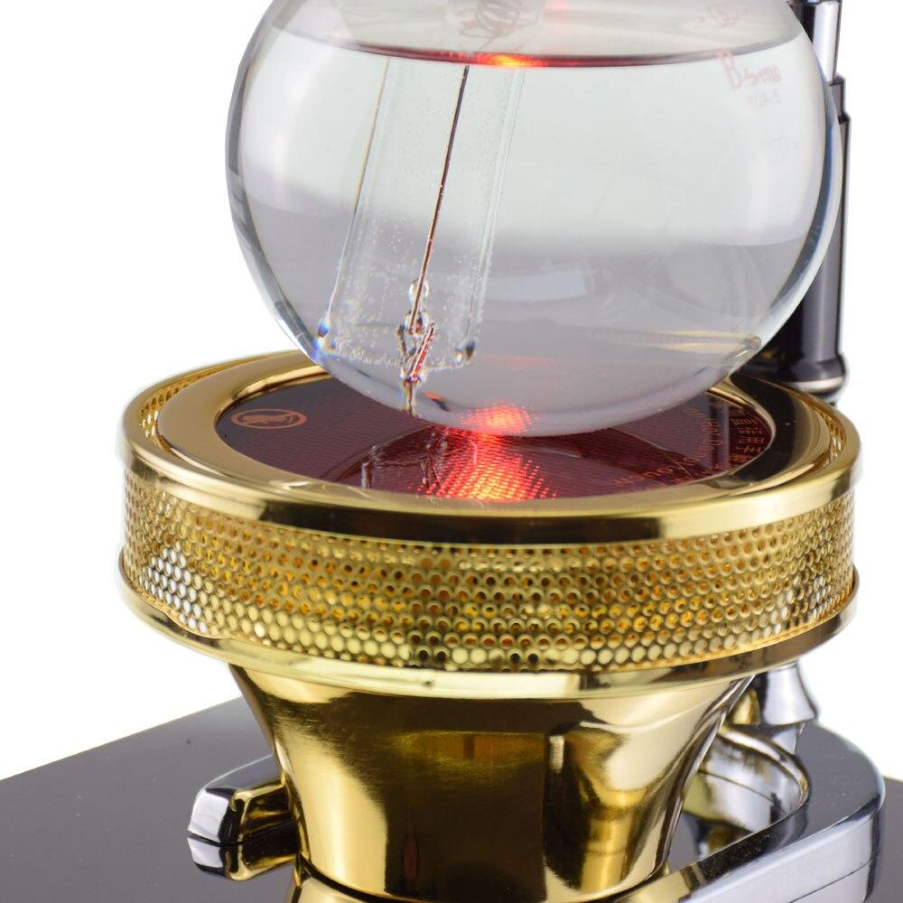 TCA кофейная плита электро оптическая галогенная лампа с подогревом 220В кофейный сифон галогенный балочный нагреватель ручная кофемашина - 4
