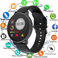 2020 Full Touch Smart Watch Men Blood Pressure Smartwatch Women Waterproof Heart Rate Tracker Sport Clock Watch For Android IOS