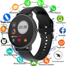 2020 Full Touch Smart Watch Men Blood Pressure Smartwatch Women Waterproof Heart