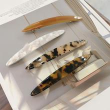 Шикарные корейские акриловые заколки для волос с ракушками и