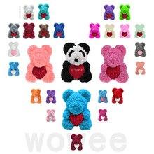 40 Cm Lễ Tình Nhân Hoa Hồng Gấu Nhân Tạo Hoa Hoa Hồng Teddi Gấu Nữ Tặng Bạn Gái Đồ Trang Trí Gấu Bông Hoa Hồng đồ Trang Trí