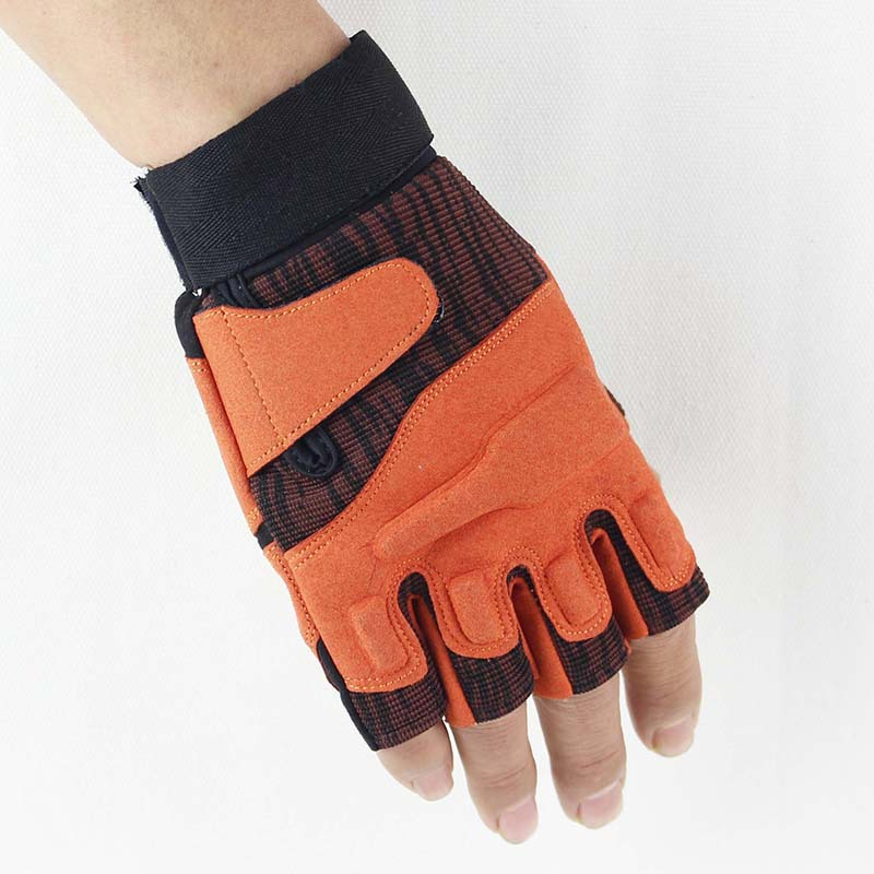 Outdoor Half-finger Tactical Gloves Tactical Fighting Cycling Anti-slip Fitness Gloves