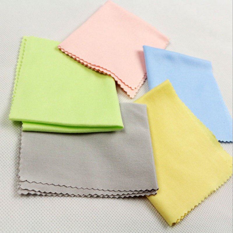 5pcs Universal Guitar Ukulele Microfiber Cleaning Cloth Violin Piano Cleaning Polish Cloth Musical Instrument Accessorie