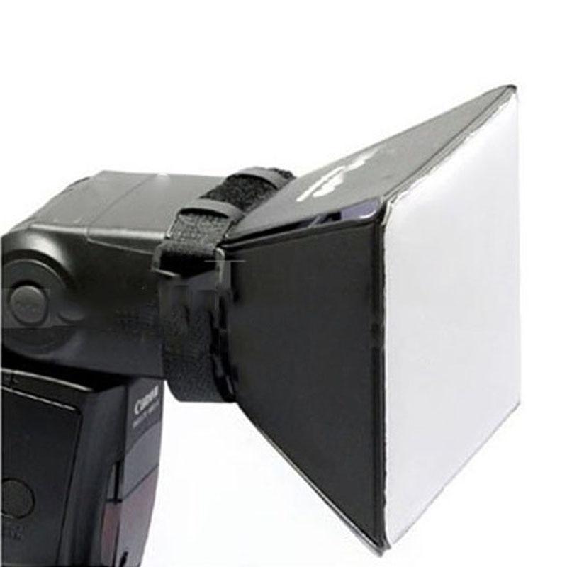 Портативный софтбокс для фотосъемки, набор софтбоксов, квадратный рассеиватель для вспышки, отражатель для Canon, Nikon, Sony, DSLR, Вспышка Speedlite