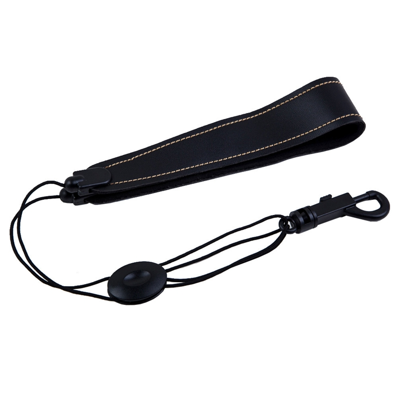 Adjustable Saxophone Strap, PU Leather Sax Neck Strap With Quick Release Hook Buckle