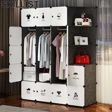 Para Casa Armoire Armario Dressing Penderie Chambre Rangement Garderobe Storage Closet Bedroom Furniture Mueble Cabinet Wardrobe