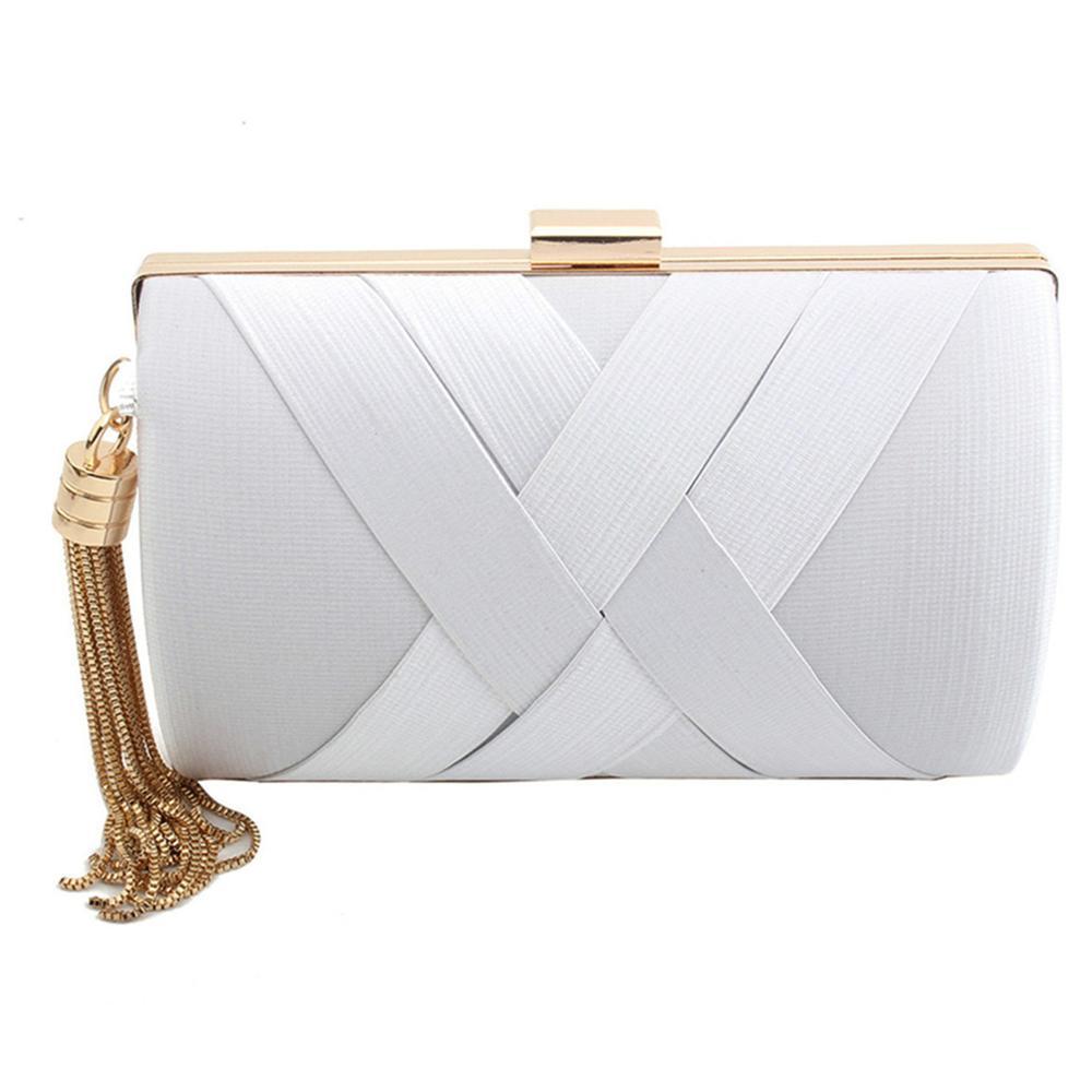 Drop Shipping Clutch Bag Luxury Handbags Women Bags Designer Bolsa Feminina White Pink Red Green Purple Silver Gold Black Gray