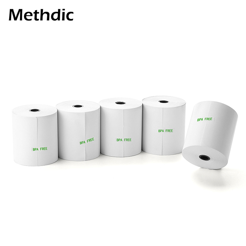 5rolls Thermal Paper Rolls 80X80mm Cash Register Till Roll Printer Thermal Paper