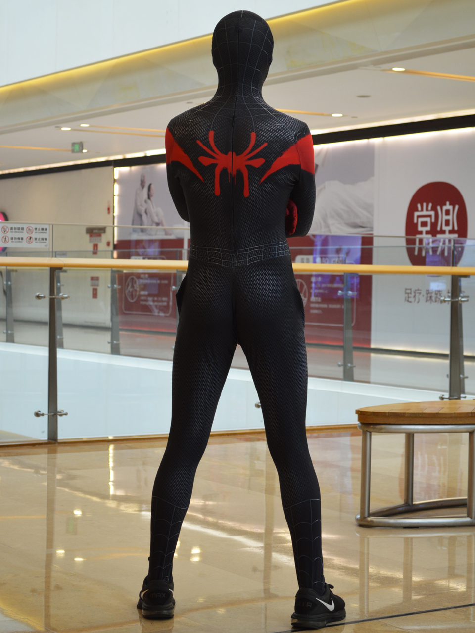 Adult/Kids Into the Verse Miles Morales Boys Costume Halloween Cosplay Superhero bodySuit Zentai Jumpsuit For Adult/Kids 3