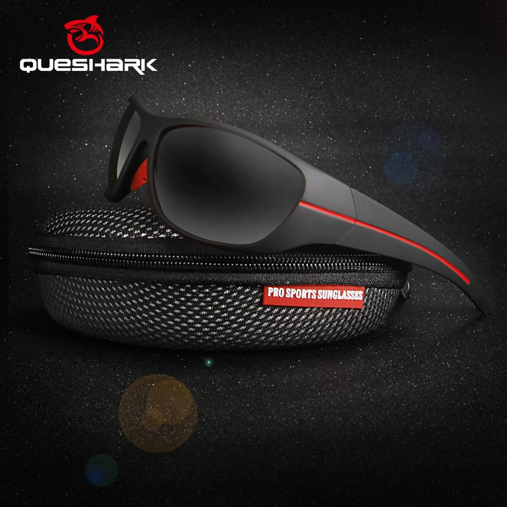 Профессиональные солнцезащитные очки QUESHARK, поляризационные очки в оправе TR90 HD, очки для рыбалки, пеших прогулок, бега, гольфа, спорта на открытом воздухе|Очки для рыбалки|   | АлиЭкспресс