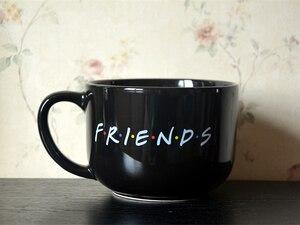 Image 2 - 新ブラック 600 ミリリットルフレンズテレビ番組シリーズセントラルパークセラミックコーヒーティーカップマグ
