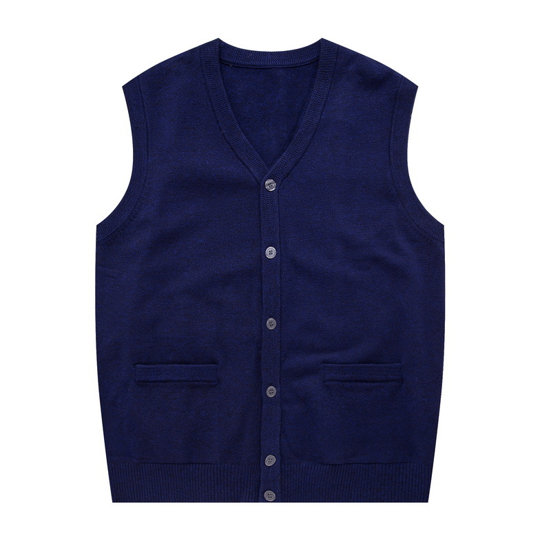 2020 New Fashion Brand Sweater Men's Cardigan Vest Slim Fit Sleeveless Knitwear...