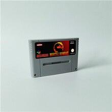 Mortal kombat 1 2 3 ou ultimate mortal kombat 3 cartão de jogo de ação eur versão inglês idioma