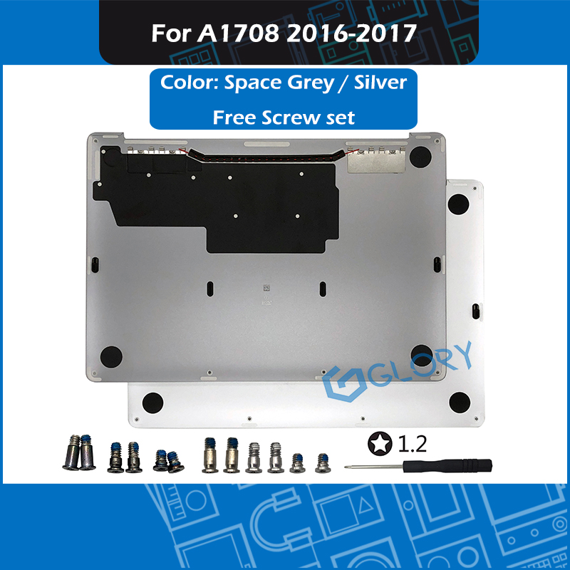 New Sliver Grey A1708 Bottom Case For Macbook Pro Retina 13