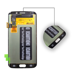 Image 4 - AMOLED ekran SAMSUNG Galaxy S6 kenar lcd ekran G925 G925I G925F dokunmatik ekran digitizer telefon parçaları orijinal OLED ekran