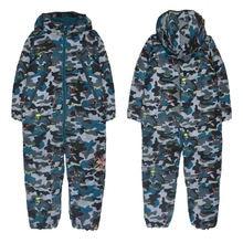 2020 новая хлопковая одежда детские зимние комбинезоны ветрозащитные