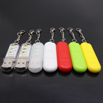 Mini Portable USB LED Book Light 3LEDs DC 5V For PC Laptops Computer Notebook Power Bank Camping Lamp Reading Bulb