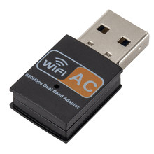 600Mbps Wifi Mini Adattatore Usb Dongle Wireless Adattatore di Rete Lan IEEE 802.11AC, 802.11b, 802.11g, 802.11n per Finestre XP/Vista(China)