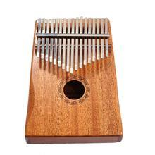 17 Key Kalimba Mahogany Thumb Finger Piano Sanza keys Solid Wood Mbira
