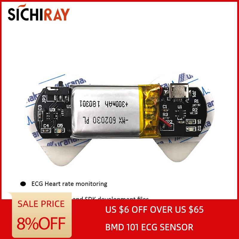 BMD101 EKG Sensoren Herzfrequenz Sensor Für Arduino Zweite Entwicklung HRV Biofeedback Smart Bluetooth Tragbare Geräte