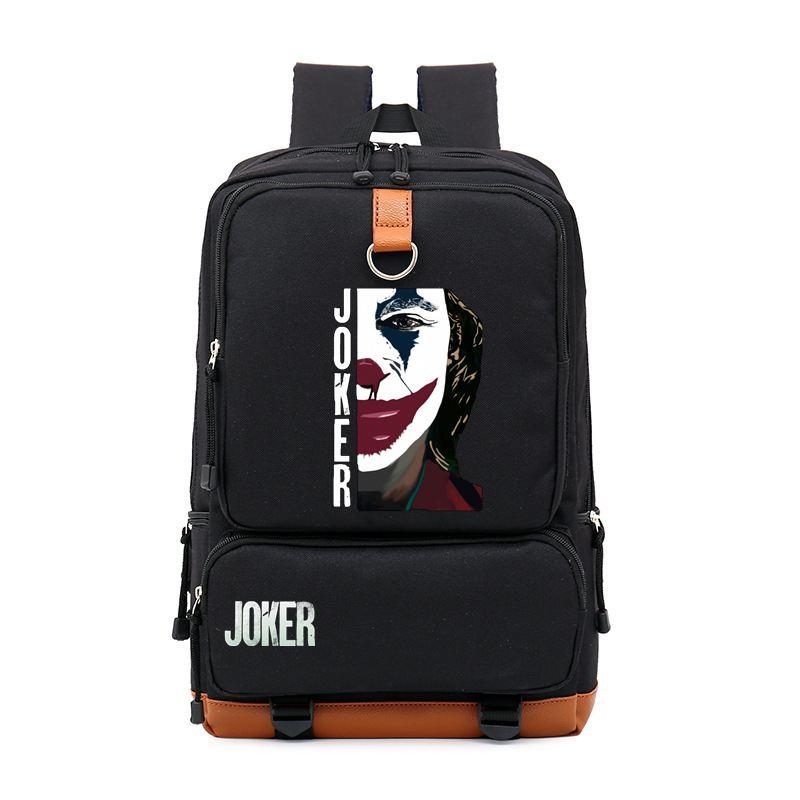 New Joker Backpack Shoulder Travel School Bag Bookbag Casual Student Teenagers School Bag Travel Laptop Bag