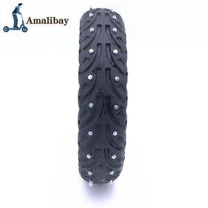 Image 3 - Elektrische Roller Schnee Reifen Eis Reifen für Xiaomi M365 / M365 Pro Roller Nicht Pneumatische Solide Reifen Stoßdämpfer nicht slip Reifen