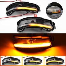 LED דינמי הפעל אות אור מנורת מראת צד לנד רובר דיסקברי ספורט טווח רובר Evoque וילוני עבור יגואר F קצב E קצב
