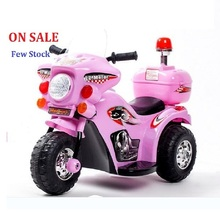 Free shipping 1-3 years old kids The New Children Electric Motorcycle Tricycle Baby Stroller With Alarme Music Toy Car