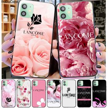 French cosmetics Lancome Soft Rubber Phone Cover For iphone 11 Pro11 Pro Max X XS XR XS MAX 8plus 7 6splus 5s se 7plus case image