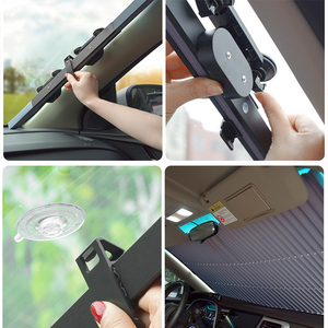 Image 4 - Car Sun Shade Car covers Sunshades Automobiles Dashboard Window Covers Auto Windscreen Cover Interior UV Protector Accessories