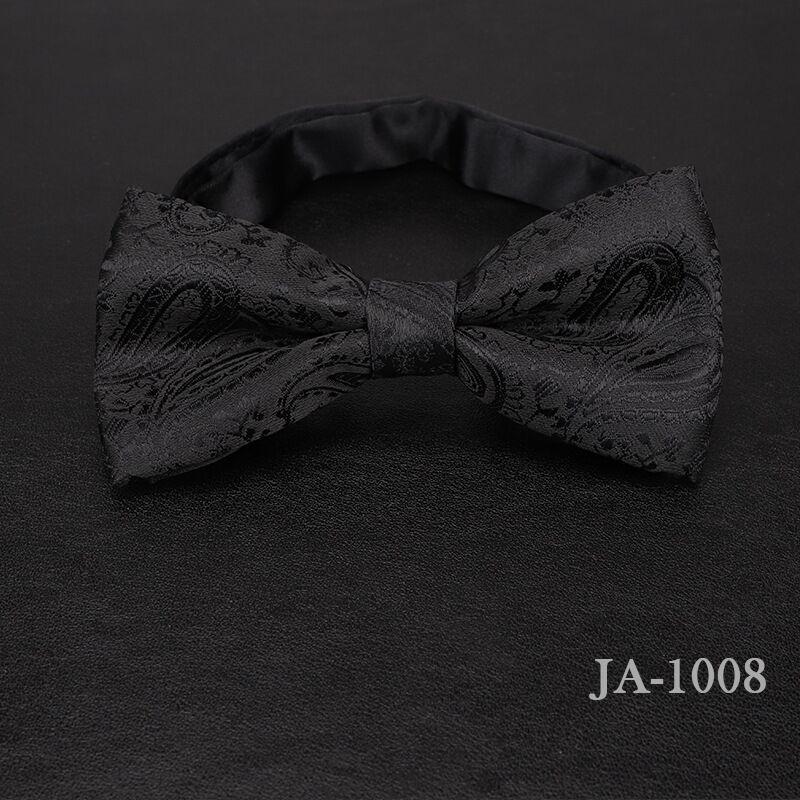 Дизайнерский галстук-бабочка, высокое качество, мода, мужская рубашка, аксессуары, темно-синий, в горошек, галстук-бабочка для свадьбы, для мужчин,, вечерние, деловые, официальные - Цвет: 1008