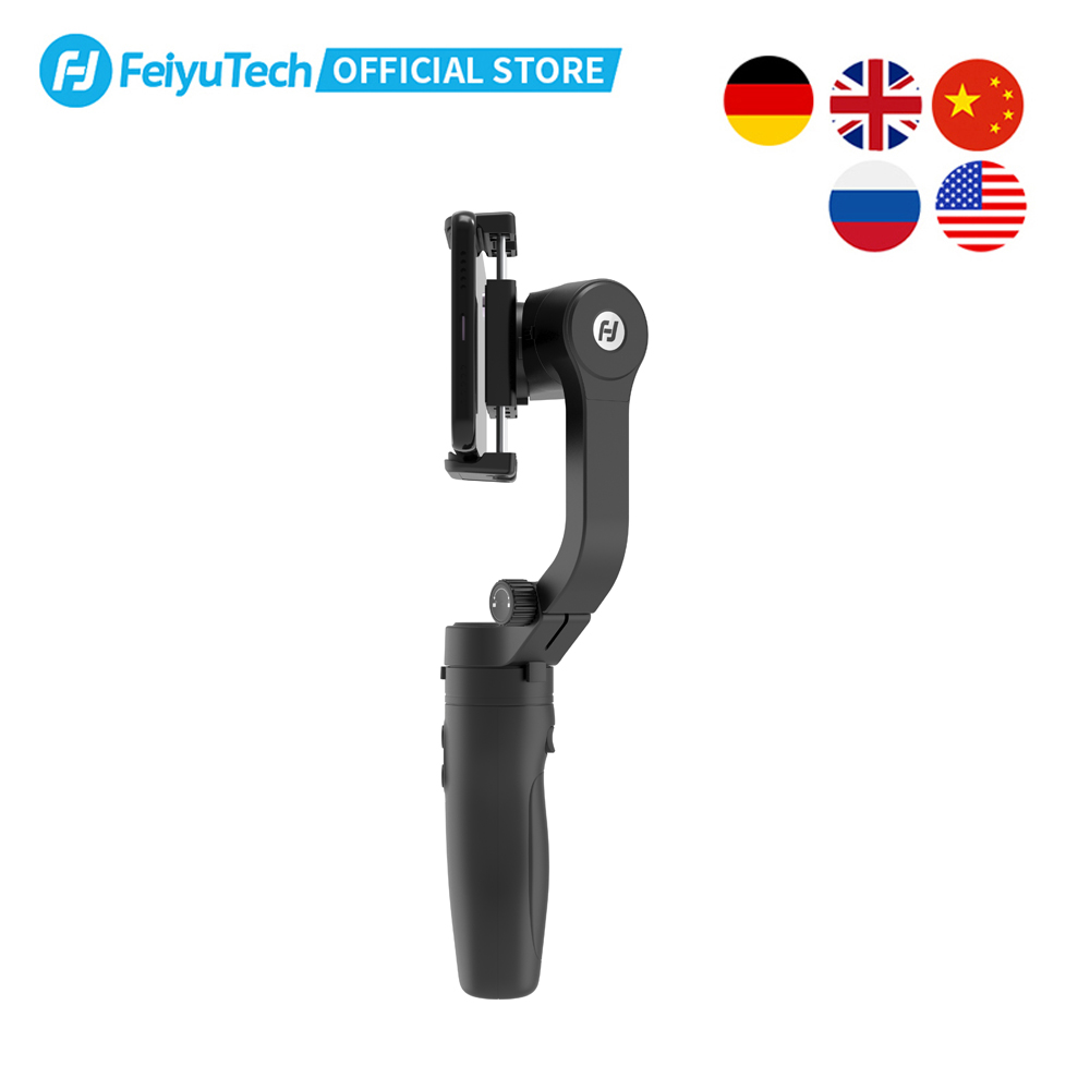 FeiyuTech Vlog Pocket Foldable 3-Axis Handheld Gimbal Smartphone Stabilizer Selfie Stick for iPhone 11 X XS Samsung Note9 4