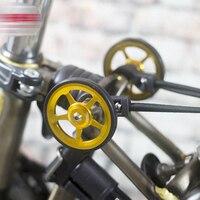 2 stücke Aluminium Legierung Rad Änderung Kits Einfach Rad für Brompton THJ99|Felgen|   -