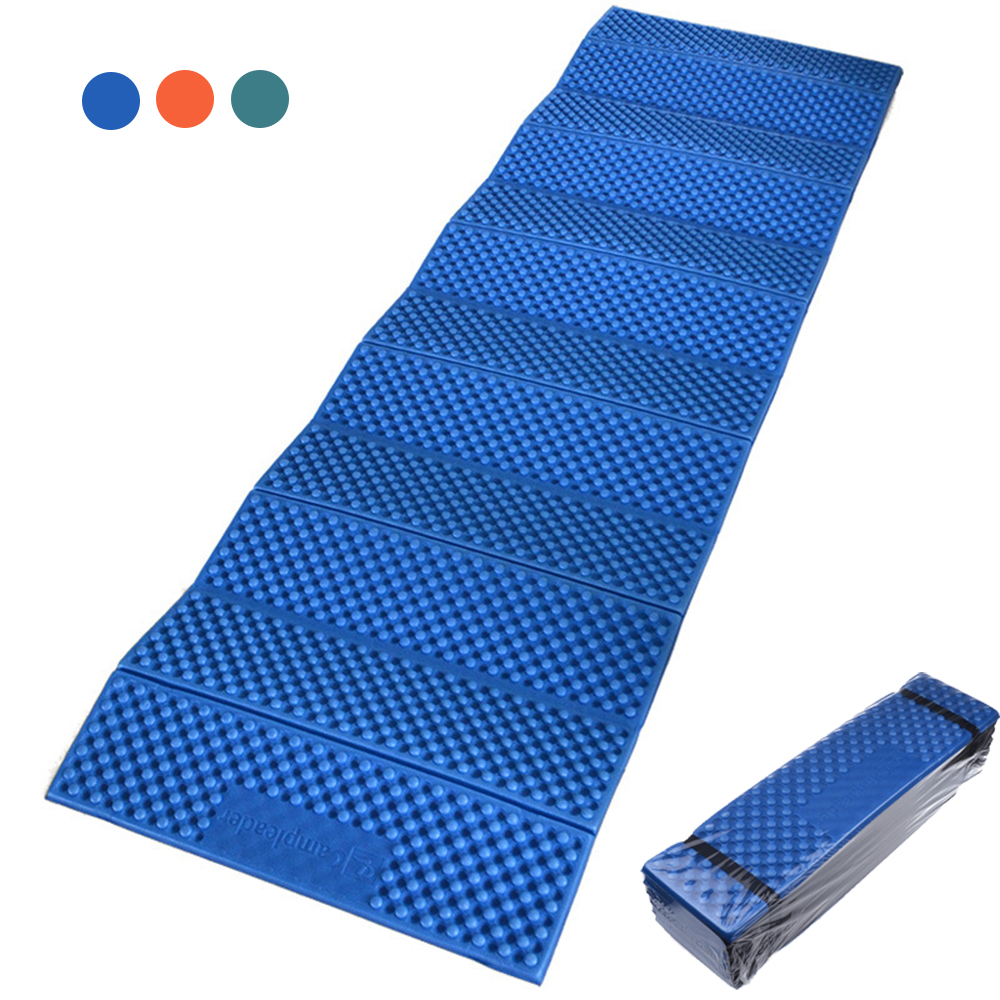 Desert&Fox Ultralight Folding Sleeping Mattress Outdoor Beach Picnic Camping Yoga Mat Waterproof EVA Foam Portable Sleeping Pad