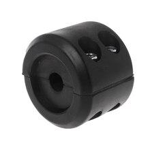 цена на ATV UTV Winch Split Cable Hook Stop Stopper Set Rubber Cushion ATV-SCHS Black