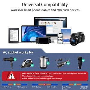 Image 5 - Adaptateur de voyage Rdxone adaptateur secteur universel chargeur adaptateur mondial prises électriques murales convertisseur de prises pour téléphones mobiles
