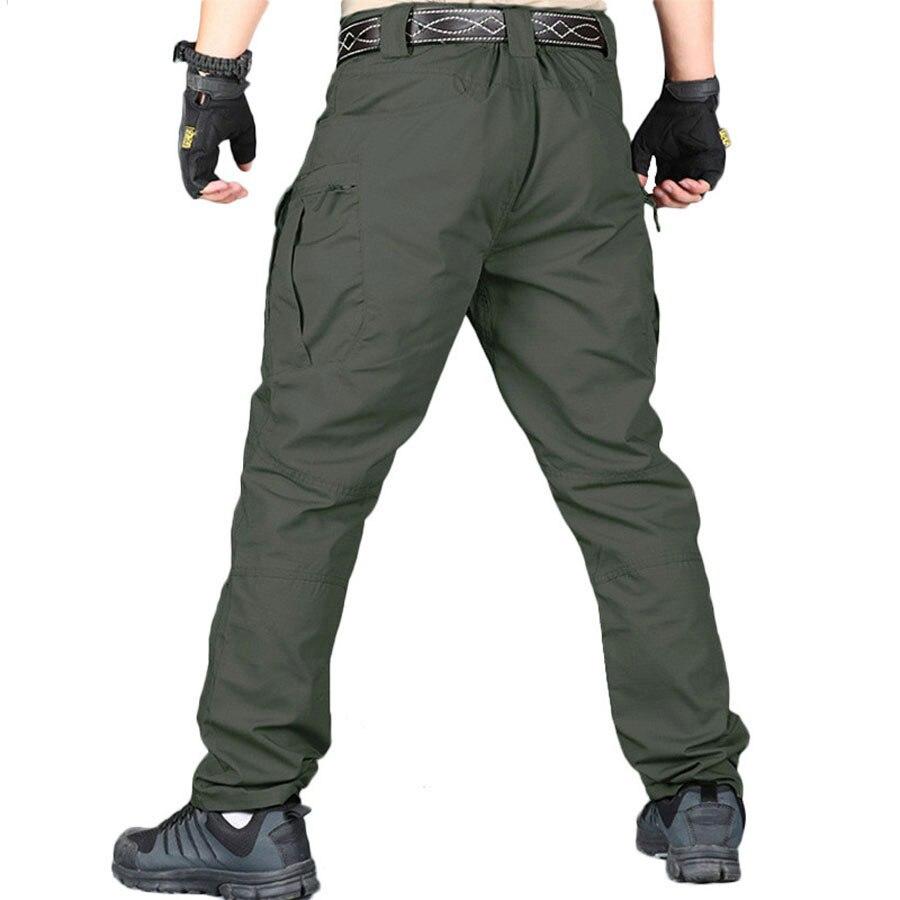 Image 4 - IX9/IX7 городские военные тактические мужские штаны swat, армейские штаны, повседневные брюки, брюки с несколькими карманами, мужские брюки карго, 5XLПовседневные брюки   -