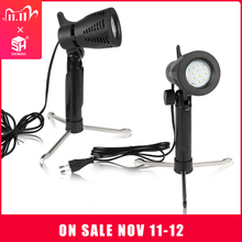 2pcs Mini table Photography LED Continuous Light Lamp Portable Cold Warm Lighting 3800 5500K For Photographic Photo Video Studio