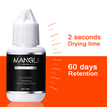 Eyelash Extension Glue 2 Second Fast Drying Eyelashes Glue Lash Glue Black Adhesive Retention 8 weeks 10ML