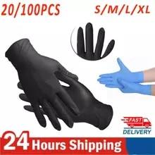 20/100Pcs Voedsel Plastic Veilig Wegwerp Handschoenen Voor Restaurant Keuken Milieuvriendelijke Voedsel Fruit Groente Handschoenen Cleaning Tools