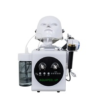 5 In 1 Multifunctional Hydra Dermabrasion Oxygen Jet Spray Photon Skin Peeling Skin Care Products Facial Machine