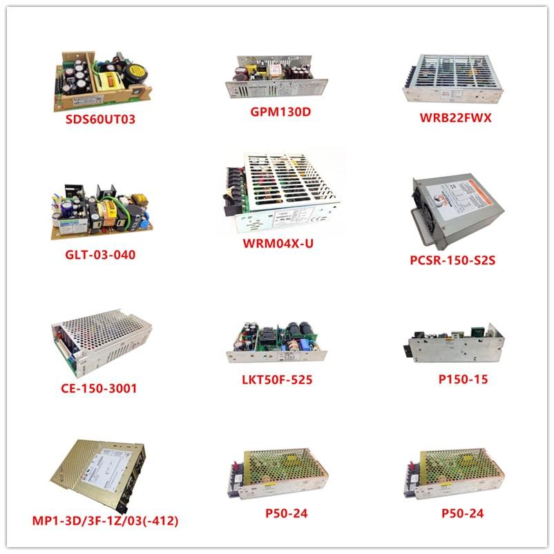 Used SDS60UT03 GPM130D WRB22FWX GLT-03-040 WRM04X-U PCSR-150-S2S CE-150-3001 LKT50F-525 P150-15 MP1-3D/3F-1Z/03(-412) P50-24