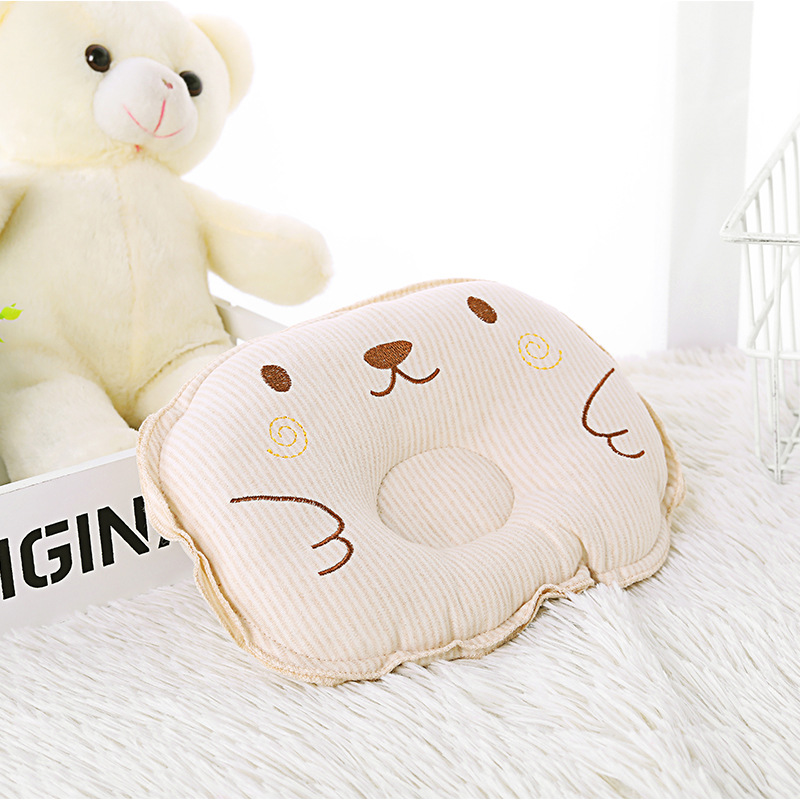 Tiny Head Protection Cushion Pillow Newborn Baby Kids Pillows Infant Cute Printed Cotton Kids Pillow Sleep Positioner Dropship