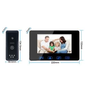 Image 4 - โทรศัพท์ประตูแบบมีสาย 7 สี LCD กันน้ำกล้อง IR Night Vision ระบบอินเตอร์คอม