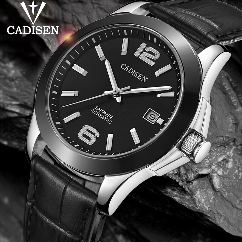 CADISEN 2020 New Mens Watches Top Brand Luxury Wristwatch Men 